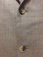 Nwot Ermenegildo Zegna 15 Milmil Mens Suit Jacket Sz 40S 40 Short Blazer 2B