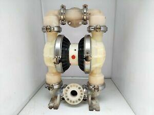 WILDEN pump 8 POLYPROPYLENE/PLASTIC Double Diaphragm Pump 2'' in. Size