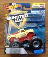 Hot Wheels Monster Jam Crusher CREAM New Sealed. Flashback. Free Postage