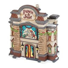 Dept 56 The Punch and Judy Theater NIB Free Shipping #4036511