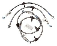 Brake Hydraulic Hose Kit-EX, Rear Disc Front Rear Russell fits 1992 Honda Civic