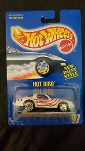 1990 Hot Wheels - Hot Bird - #9518 -  Collector #37 - Blue Card - NIP