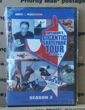 Espn & 990 Tony Hawk's Gigantic Skatepark Tour Season 3 Dvd Factory Sealed New