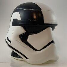 """Storm Trooper Star Wars Helmet Store Display Candy Holder Plastic 7"""" Tall w/ Lid"""