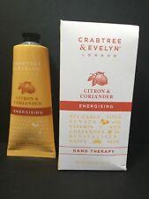 Crabtree & Evelyn Citron & Coriander Hand Therapy 3.45 Oz (100g) Nib