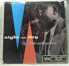Charlie Parker Night And Day LP Verve Label MG V-8003 Original 1956 MONO VG