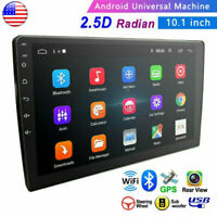 Android 9.0 10 Inch Car Stereo Radio No-DVD Player In Dash Car GPS Navi Wifi FM