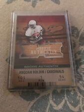 2003 Fleer Authentix Football Card #104 Anquan Boldin Rookie #'d /1250