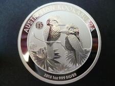 More details for 2013 australia kookaburra's one dollar coin, uncirculated 1 oz fine silver.