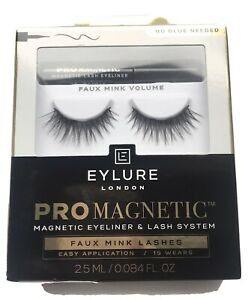 Eylure Pro Magnetic Faux Mink Volume Lashes  BNIB