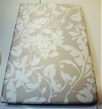 1 Bassetti Satin Bettwäsche-Garnitur 135/200 NEU natur floral 100% Baumwolle