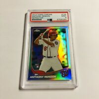 Anthony Rendon 2013 Topps Chrome Refractor PSA 9 Rookie Card RC #128