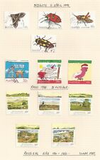 Australia 1988-91 Various Full sets (used) Christmas, insects, paintings