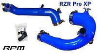 RPM-SxS Polaris RZR Pro XP Silicone Charge Tube Kit 2020-2021 BLUE