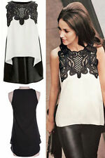 Lace Sleeveless Other Tops for Women