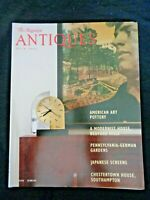 The Magazine Antiques 2001 Richard Mandel Bedford Hills Edward Lycett Faience