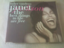 JANET JACKSON / LUTHER VANDROSS - BEST THINGS IN LIFE ARE FREE - 1995 CD SINGLE