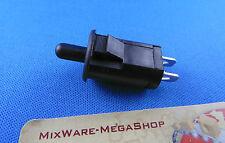 Einbausdrücktaste Taste Schalter, Schwarz 1 Stück