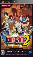 Used PSP Konami Fairy Tail: Portable Guild  2 SONY PLAYSTATION JAPAN IMPORT