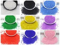 10000 Opaque Glass Seed Beads 1.5mm(12/0) + Storage Box Colour Choice Jewelry