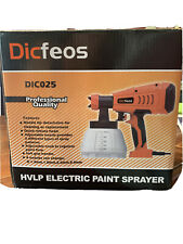 Dicfeos Electric HVLP Paint Sprayer Gun