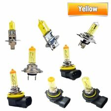 2X Yellow Light H1 H3 H4 H7 H8 H9 H11 9005 HB3 9006 HB4 Auto halogen lamp bulb