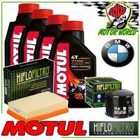 Oil Replacemenet Kit MOTUL 7100 10W40 + Filters BMW R 1200 Rs 2017 2018