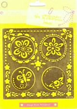500000/0405 Flowers Template - The Stencil House - Marianne Design