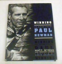WINNING: RACING LIFE OF PAUL NEWMAN By Stone and Lerner - Hardcover
