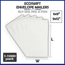 White Self Seal Envelope For Shipping Mailing Kraft Paper Letter 28 Lb 1000 500