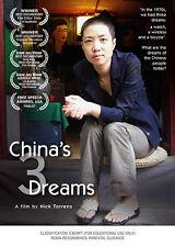 New DVD - CHINA'S 3 DREAMS