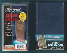 (600) Ultra Pro 3x5 Toploaders and (600) FREE 3x5 Card Sleeves - BRAND NEW