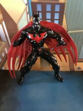CUSTOM BATMAN BEYOND FIGURE-REMOVEABLE WINGS Easy Removal  Read Total Justice