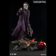 SIDESHOW The Dark Knight Joker Heath Ledger Premium Format Figure Statue SEALED
