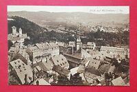 AK WALDENBURG in Sa. um 1920 Blick über die Dächer der Stadt mit Kirche ( 30273