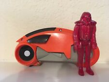 Vintage TRON light cycle w/ warrior Tomy 1981