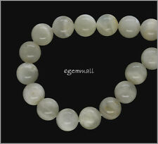 16 Natural Moonstone Round Beads ap.11.4-12mm #74116