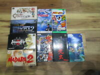Super Famicom Lot of 9 piece Madara 2 Romancingsaga Complete SFC SNES Japan T967