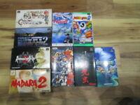 Super Famicom Lot of 9 piece Madara 2 Romancingsaga Complete SFC SNES Japan T967