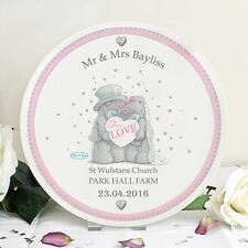 Personalised Me to You Wedding Plate For Couple Gift - Tatty Teddy Bear