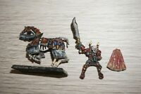 Warhammer Fantasy Undead Vampire Counts Mounted Lord - Metal OOP