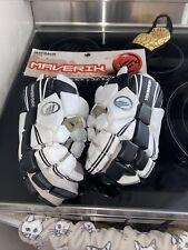 Lacrosse Gloves (Maverik Maybach) Size: 13 Shark Gel Never Used In Case Bag