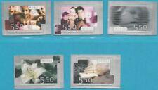 Norwegen aus 2003 ** postfrisch MiNr.1474-1478 SK - Grußmarken!