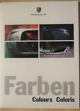 Porsche; 911 (996) Colours, Brochure