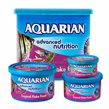 AQUARIAN TROPICAL FLAKE FOOD 25G,50G,100G 200G