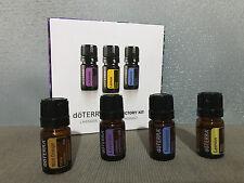 Brand New doTERRA Intro Kit Lavender Lemon Peppermint Oils & FREE Orange Oil