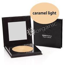 Green People Organic Natural Pressed Compact Powder SPF15 - Caramel Light 10g