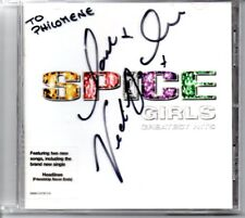 SPICE GIRLS RARE CD GREATEST HITS SIGNED VICTORIA BECKHAM