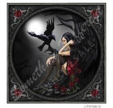 Lisa Parker Design Carte de vœux eternellement vôtre Gothique Fille et Raven Blank
