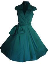 Vestiti da donna verde con Scollo a V Taglia 42